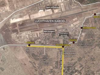 IN KAART. De gevaarlijke route naar de luchthaven van Kaboel