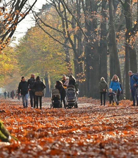 Code rood voor natuurgebieden rond Breda vanwege drukte