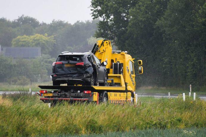 Flinke schade bij meerdere auto's.