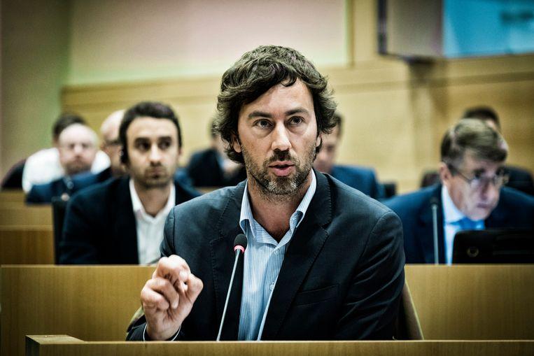 Parlementslid Wouter De Vriendt (Groen) wordt voorzitter van de parlementaire commissie over Congo.  Beeld Tim Dirven