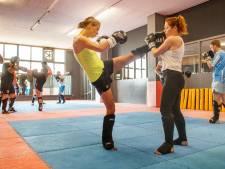 'Ik wil niet voor schut staan in de ring bij het kickboksen'