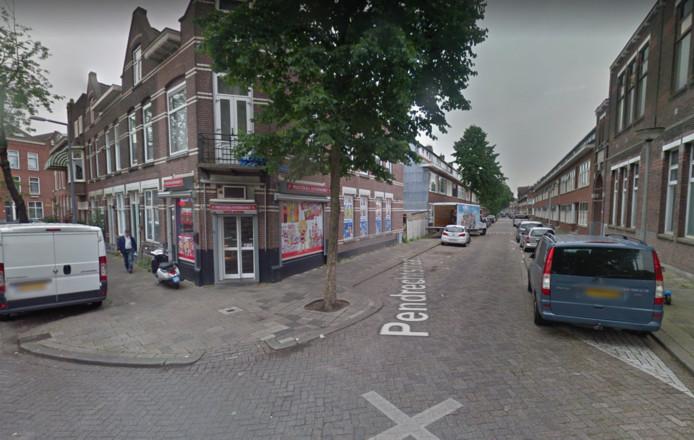 Hoek Boergoensevliet en Pendrechtstraat