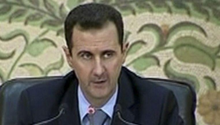 Assad. Beeld reuters