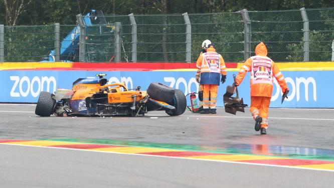Le geste très fair-play de Sebastian Vettel après le crash de Lando Norris
