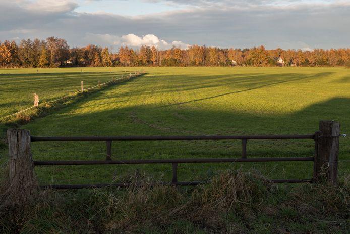 Dit is een van de percelen in Heino - aan de Molenweg - waarop een voorlopig voorkeursrecht ligt.