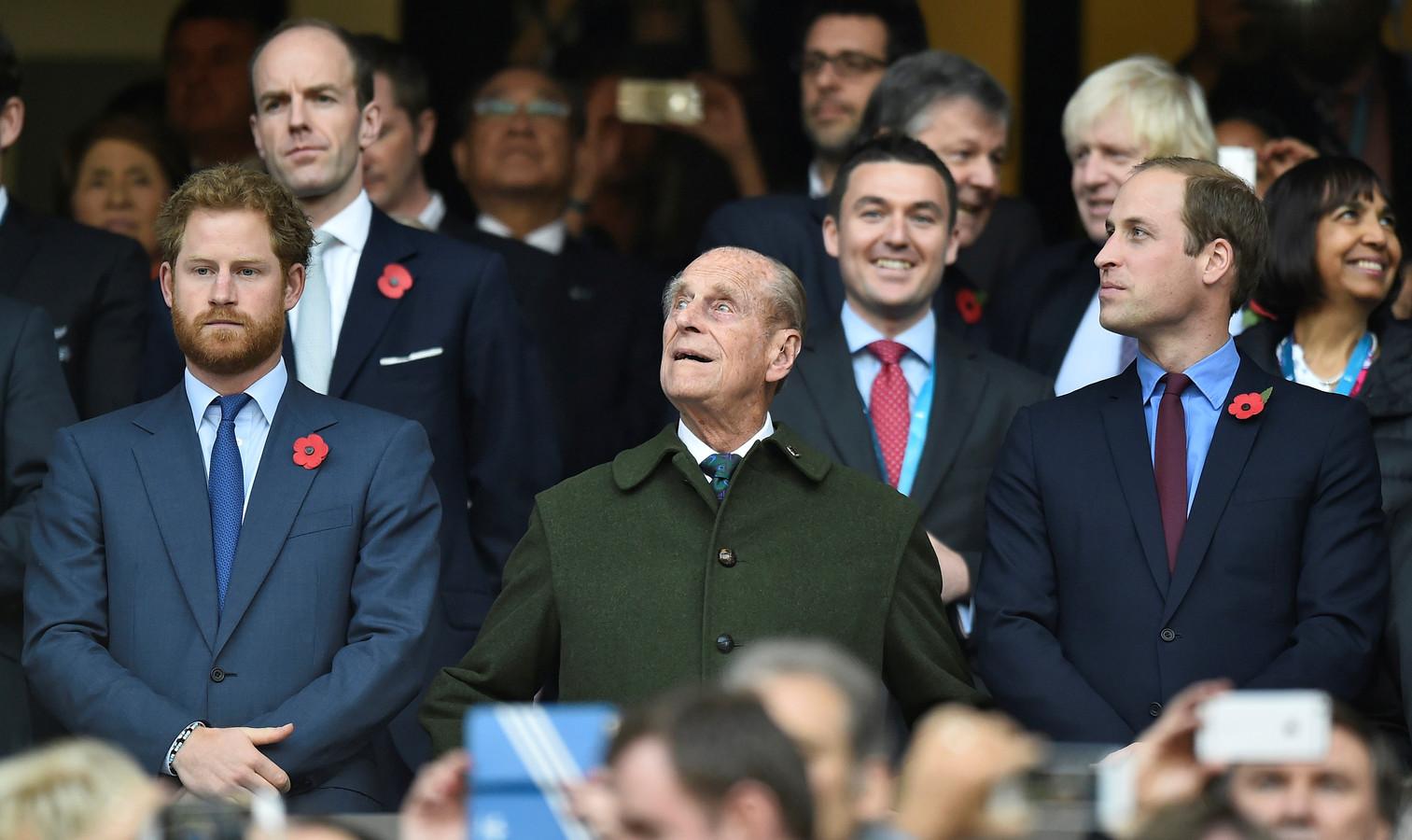 Prins William en prins Harry reageren voor het eerst op het overlijden van hun grootvader.