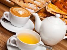 Prijzen thee en koffie flink omhoog in lunchrooms