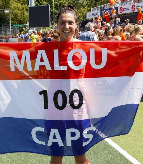 'Miss 100' Malou Pheninckx is de Marten de Roon van het hockeyveld