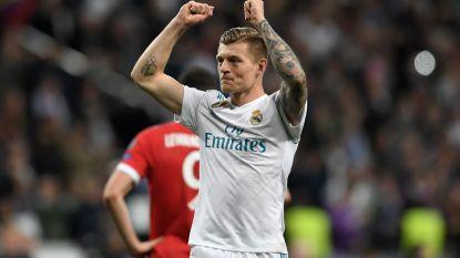 """Kroos na triomf tegen ex-club: """"Driemaal op rij in de finale, dat is waanzinnig"""""""
