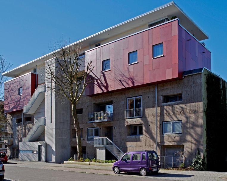 Door architect Rainer Mielke verbouwde bunker in Bremen. Beeld