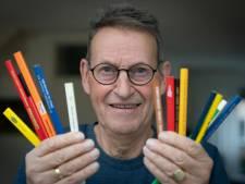 Jaap (73) uit Dieren spaart timmermanspotloden: 'Ik heb er wel 1400'