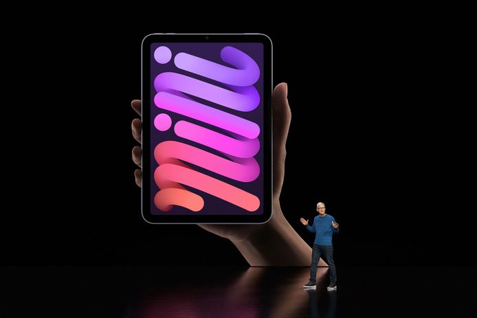 Le nouvel iPad mini.