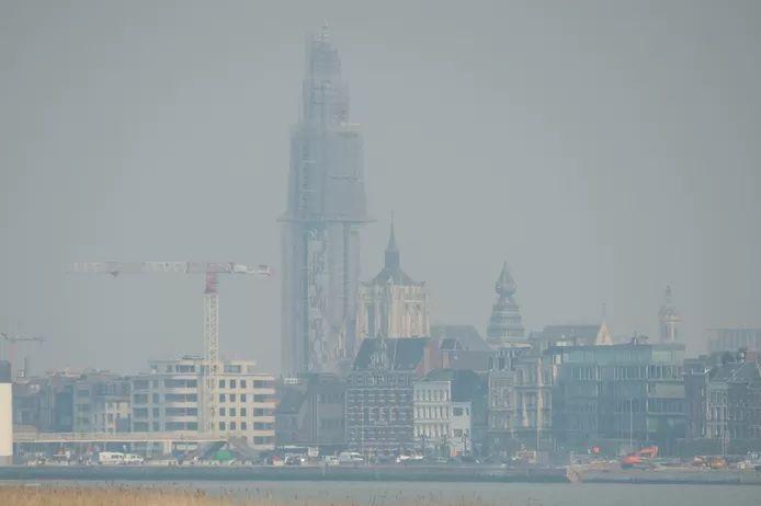Anvers ce vendredi après-midi.