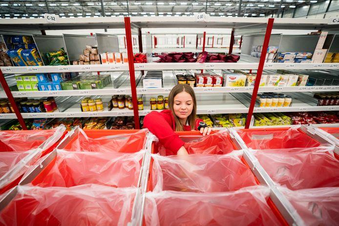 Ter illustratie: medewerkers van onder meer distributiecentra kunnen niet thuiswerken.