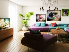 Televisie of schilderij? Zo verwerk je een tv in je interieur