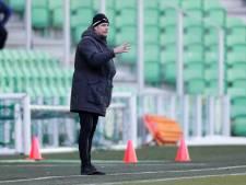 FC Groningen-trainer Buijs laat Derby van het Noorden 'uit voorzorg' schieten