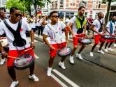 Verkeer Hofplein vast door afsluiting Battle of the Drums
