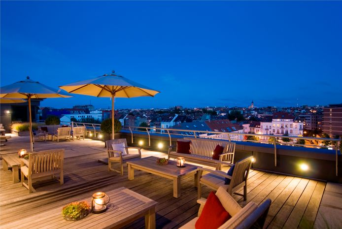 Vanaf zaterdag 8 mei opent Sofitel Brussels Europe een rooftop-terras.