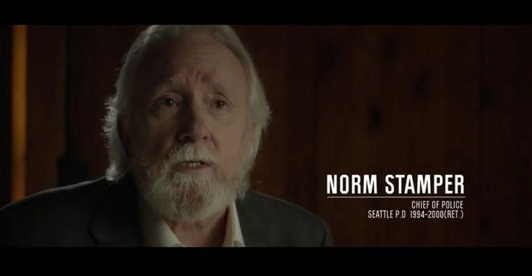 Ex-politiechef Norm Stamper.