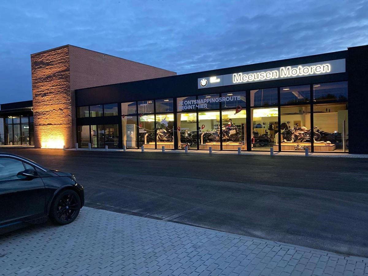 Meeusen Motoren Kempen is sinds kort gevestigd aan de Winkelomseheide in Geel.