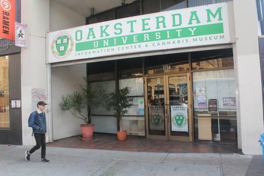 Oaksterdam University.