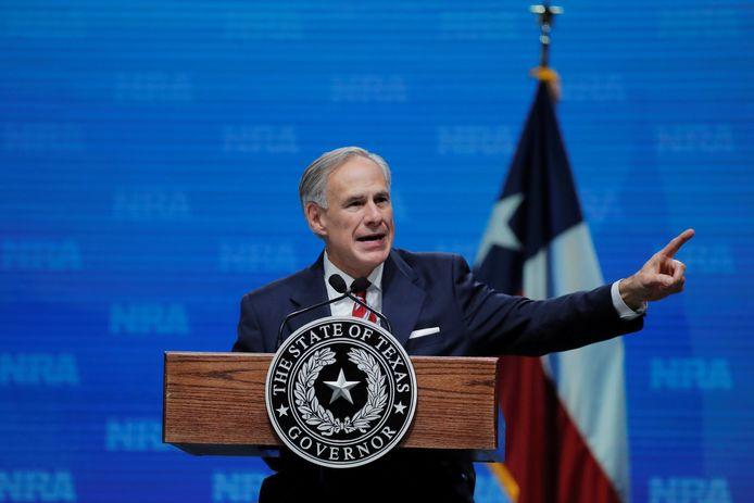 Gouverneur Greg Abbott van Texas.