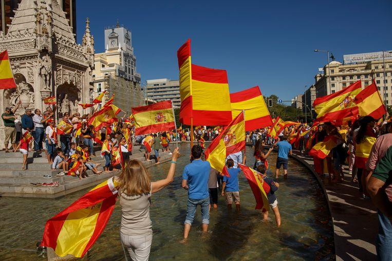 Het Taboe Op Nationalisme Is Weg In Spanje Trouw