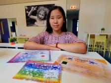 Allie Zong (12) uit Veldhoven wint  wiskundewedstrijd: Rekenen vind ik altijd leuk!
