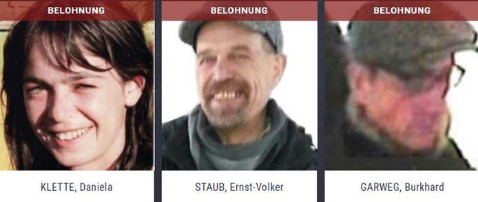 Van de drie leden van de inmiddels opgeheven links-extremistische terreurgroep Rote Armee Fraktion (RAF) ontbreekt sinds 2015 elk spoor.