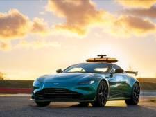 Aston Martin ook als safetycar in Formule 1