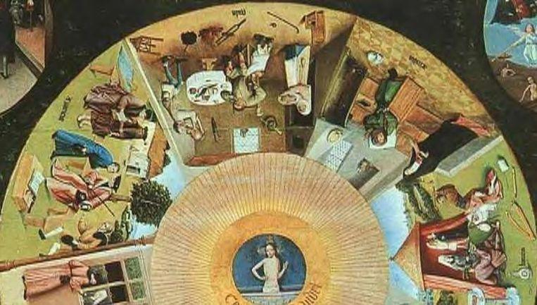 'De zeven hoofdzonden' van Jeroen Bosch Beeld Jeroen Bosch