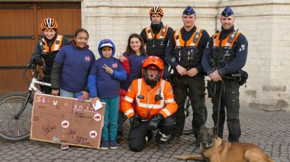 Politie Leuven steunt de Vlaamse Week tegen Pesten
