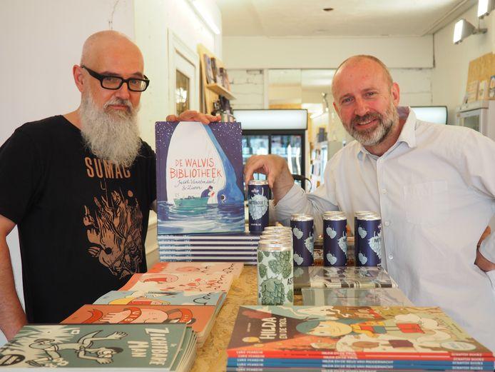 Jan Phlips en Toon Diependaele pairen in Noch Planten Noch Koffie bieren en graphic novels.
