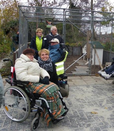 Pad in Natuurtuin nu ook geschikt voor rolstoelen