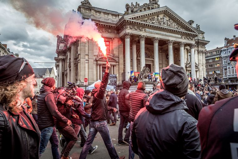 Betogers Beeld Jan Aelberts