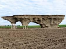Zo ziet het achtste landschapskunstwerk in Flevoland eruit