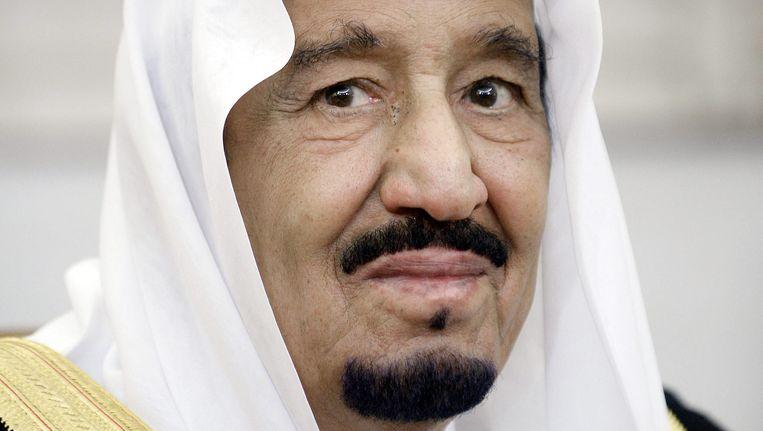 Koning Salman van Saudi-Arabië. Beeld epa