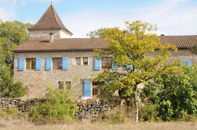 Het huis van Danny en Ann in Frankrijk.