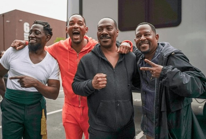 Wesley Snipes, Will Smith, Eddie Murphy et Martin Lawrence
