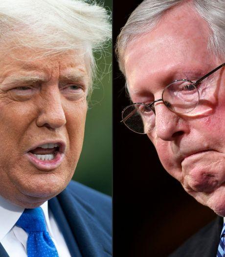 Donald Trump appelle les Républicains à se retourner contre leur chef qui l'a trahi