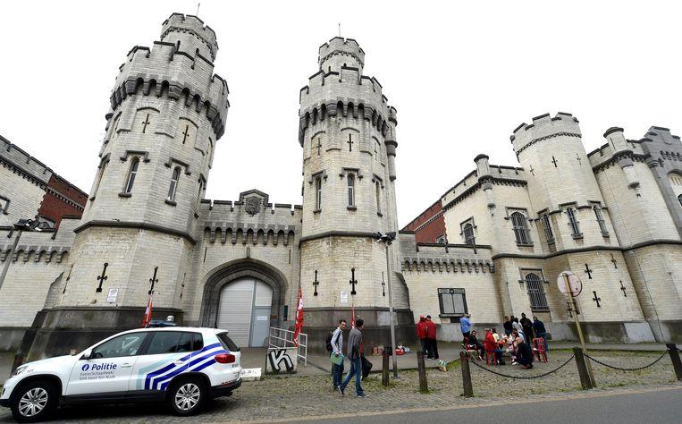 De gevangenis van Vorst. Beeld Photo News