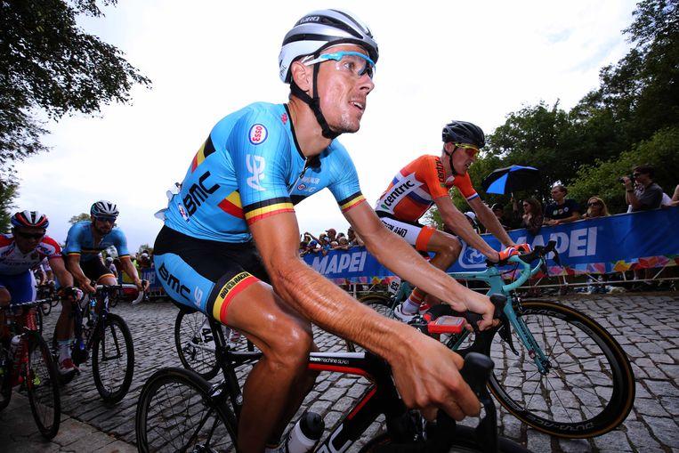 Philippe Gilbert was al tweemaal de beste in de Ronde van Lombardije. Beeld TDW