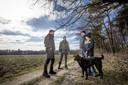 Surveillance actie Staatsbosbeheer Twente: controle honden aan de lijn.