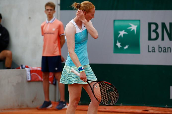 Alison Van Uytvanck quitte déjà Roland-Garros.