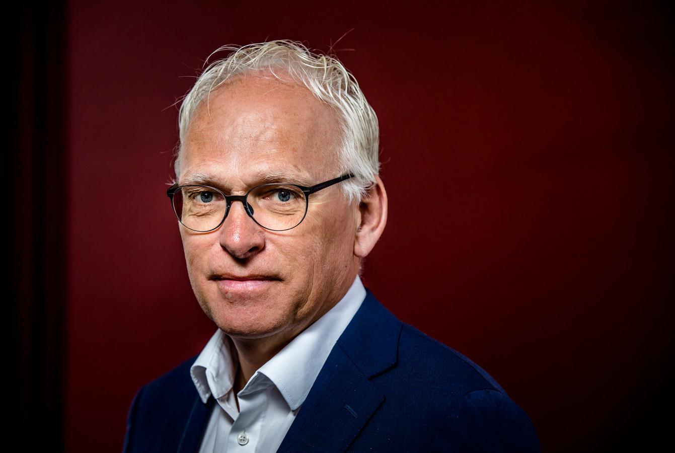 Piet Adema, voorzitter van WoningBouwersNL, branchevereniging voor ontwikkelaars en bouwers.