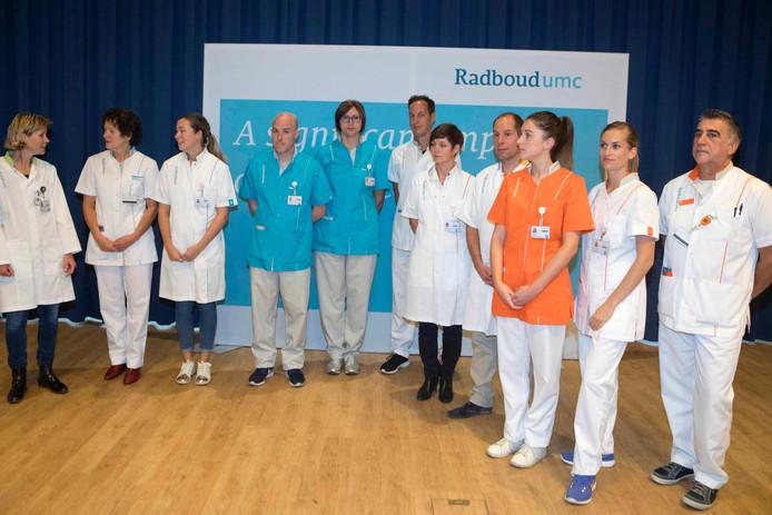 Meer dan 5.000 werknemers van het Radboudumc krijgen een nieuw uniform.