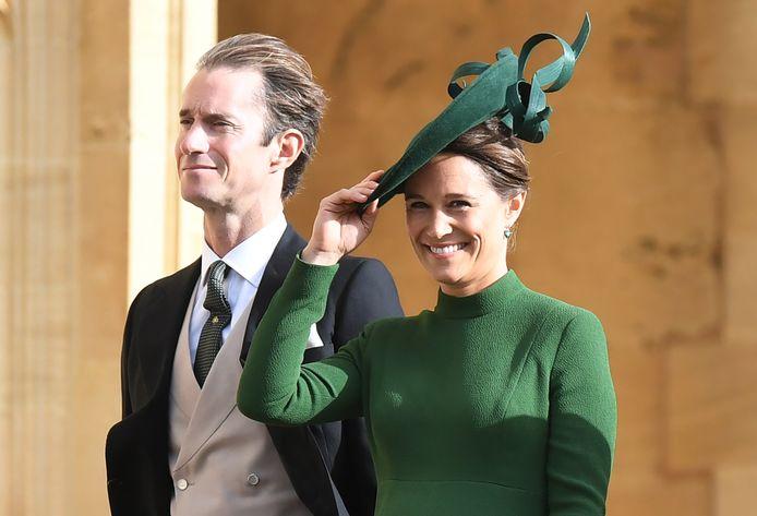 Pippa Middleton, zus van Catherine, is weer zwanger.