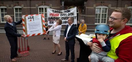 Spoortunnel Deurne zaait verdeeldheid: twee buurten komen ieder met eigen protest