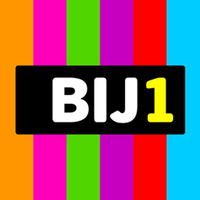 Het logo van BIJ1, de partij onder leiding van Sylvana Simons.