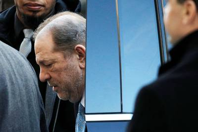Harvey Weinstein immédiatement incarcéré après avoir été reconnu coupable